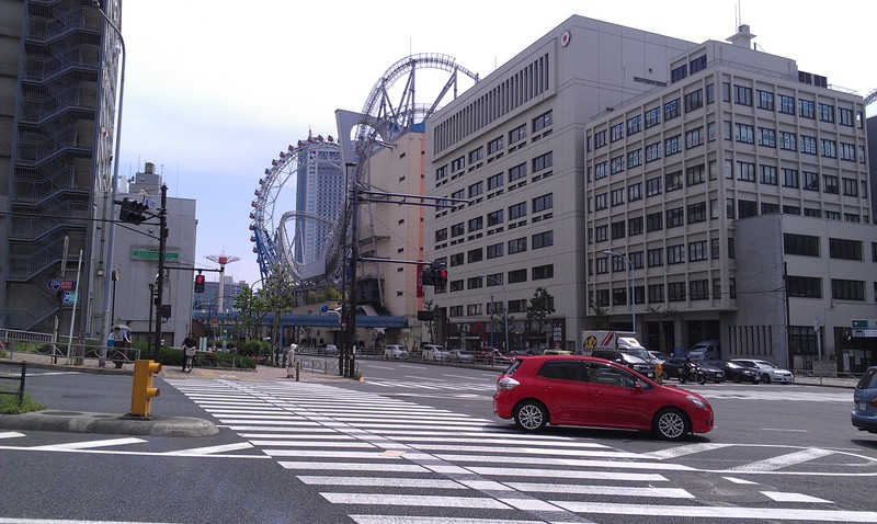 Hakusan dori and Kasuga dori intersection